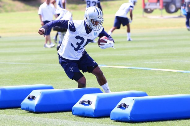 Joseph Randle during Cowboys minicamp