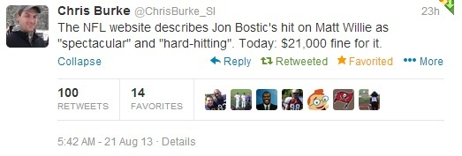 chris burke tweet